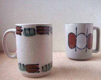 vintage japan mug, vintage mug, patterned mug