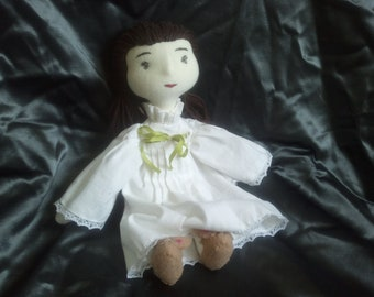 Off to bed, a Waldorf inspired doll