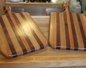 Oak/Cherry/Walnut Cutting Boards