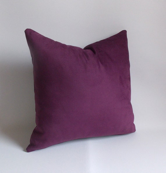 Purple Velvet Decorative Pillows : Items similar to Velvet Purple Pillow Cover,Decorative pillow,Velvet Purple pillow, All Sizes on ...