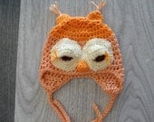 Little Peaches Owl Hat
