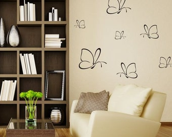 Wall Sticker Butterflies (143n)