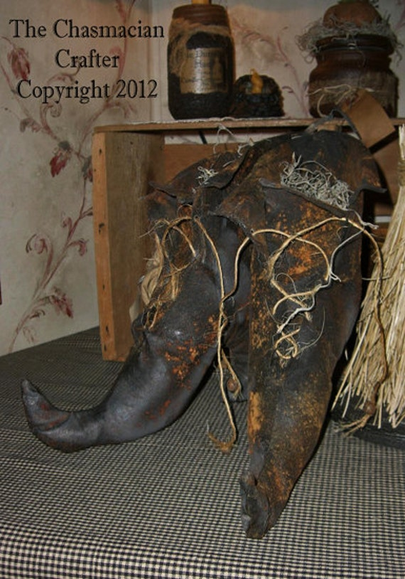 Wicked Witch Boots