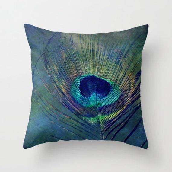 Custom Down Throw Pillows : Plume Throw Pillow Home Decor photography custom art