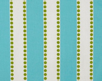 Lulu Stripe in Aqua and Chartreuse - Premier Prints Home Decor