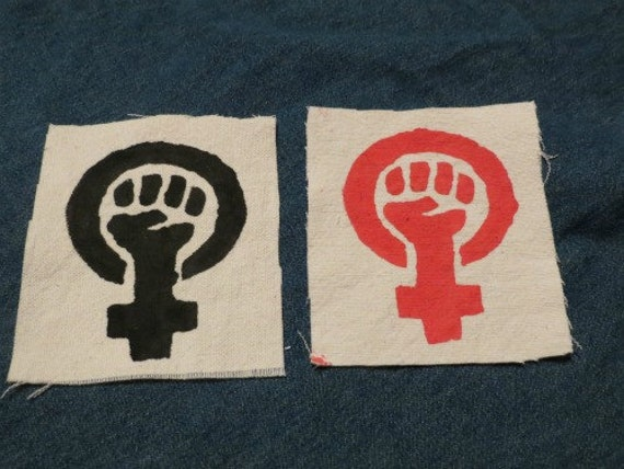 Feminist Fist Patches