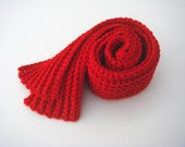 Red Scarf / Free Shipping