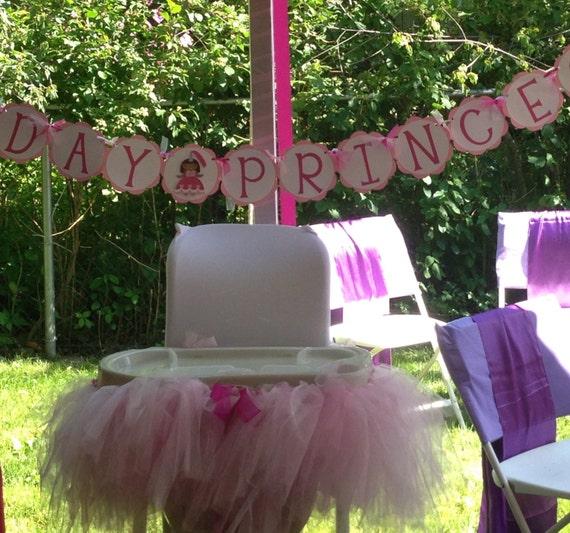 items similar to birthday tutu tulle high chair skirt on etsy