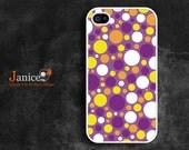 iphone 5s case,iphone 5c case,IPhone 5 caseiphone 4 protector verizon iphone 5 case iphone 4s case iphone 4 cover purple yellow circle
