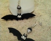 Bat Dangle Earrings