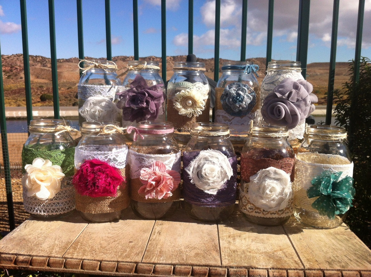 Rustic Wedding Decor 25 Bulk Burlap Lace By Rusticchicbody