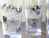 Vintage Drinking Glasses Set of 4