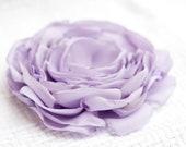 Lavender fabric flower supply/ Handmade supplies/ Lavender accessory fabric flower