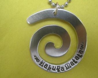Hakuna Matata Jewelry necklace