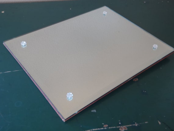 Items Similar To Vanity Mirror Frameless Beveled Mirror
