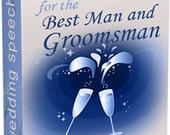 Best Man and Groomsman speech eBook digital guide PDF
