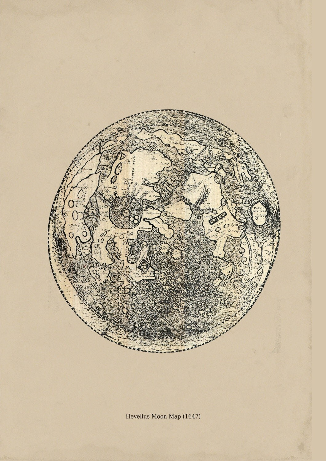 Vintage Astronomy Print - Pics about space