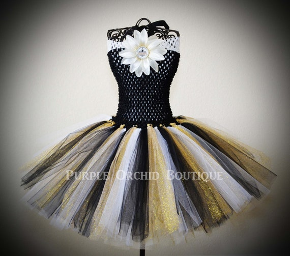 Wedding Gowns New Orleans: Items Similar To New Orleans Saints Inspired NFL Tutu