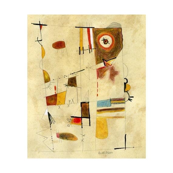 original 240 modern art painting mixed media wall art home decor