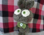 Max - cute crocheted amigurumi bunny boy