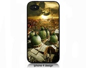 Unique City Scape iphone 4 cell phone case, Iphone case, Iphone 4s case, Iphone 4 cover, i phone case, i phone 4s case