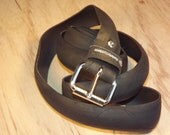 Bicycle Tire Belt - Black Hybrid Bike Slick Tread - No. 132
