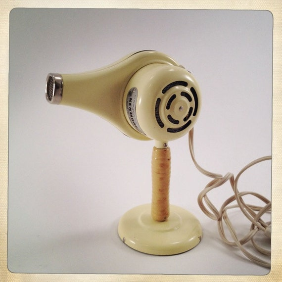 vintage hair dryer with stand and original box Kenmore