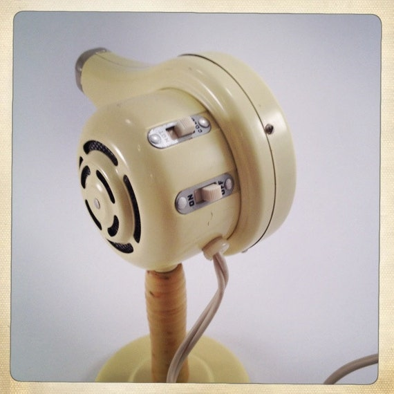 Vintage Hair Dryer With Stand And Original By