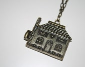 Love Makes a House a HOME Necklace