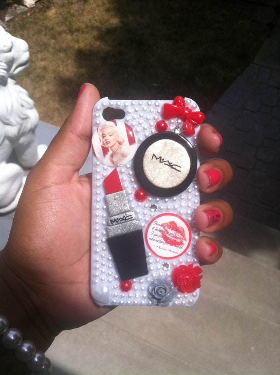 SALE Custom Marilyn Monroe iPhone 4 Case