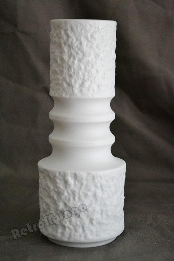 White bisque porcelain vase by Royal Porzellan KPM Bavaria