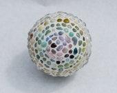 Ombre Spiral Mini Garden Ball