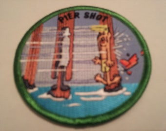 surf patch pier shot