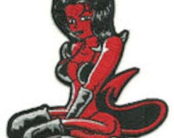 devil girl patch