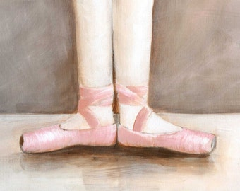 5 Ballet Positions - set of 5 Prints on archival paper 5X7, 8x10, 11X14
