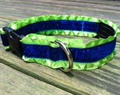 "1"" Adjustable Dazzle Collar (MORE COLORS AVAILABLE)"