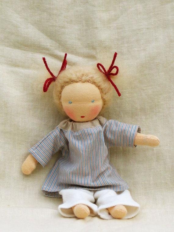 Small Waldorf doll 8 inch/20 cm