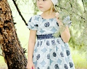 Full Twirl Peasant Top or Dress with optional Sash..... PDF Pattern.....Sewing Pattern