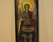 Archangel Michael, Icon.Unique Religious Art and Gifts for Your Special Ones