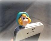 1pc Iphone and Ipad Dust Plug Charm