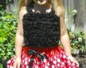 "Boutique Style Minnie Mouse Pettiskirt - Waist Size 18""-23"" for Ages 1-4"