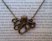 Release the Kraken Necklace Antique Bronze