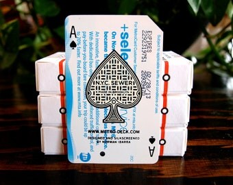 Metrodeck Playing Cards: Ace of Spades Single Card