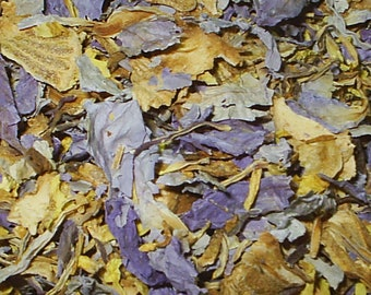 1 OZ OUNCE - Blue Lotus Flower Petals (Nymphaea caerulea) Sacred Blue Egyptian Water Lily Plant Herb Herbal Natural Tea ~ A GRADE