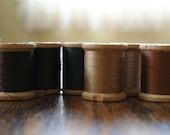 Vintage Thread Set in Earthtones