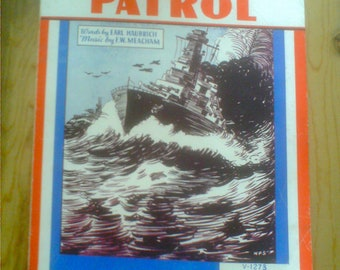 Vintage Patriotic Sheet Music 1942