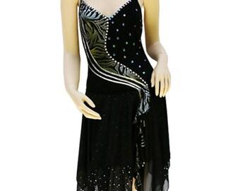 Modern dance costume - Two layer modern dance dress