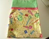Novelty Pillowcase - Sewing theme -New