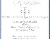 Baptism Invitation-Digital File