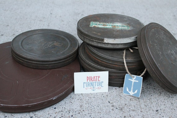 Vintage Film Reel Cases & Antique Films